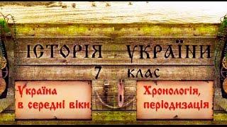 Україна в середні віки (укр.) Історія України, 7 клас.