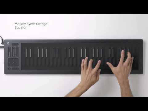The new sounds of the Seaboard RISE and Equator