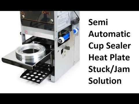 WY-680 SEMI CUP SEALER HEAT PLATE FIX