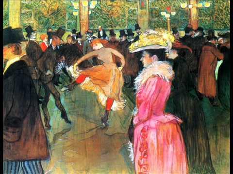 MISCELÁNEAS EN RADIO ROCHA: Nos visitó Toulouse-Lautrec IMAGEN:Bal au Moulin Rouge (1890)