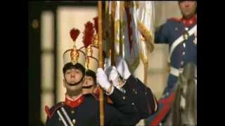 Spanish Royal Guard. Honors Group.