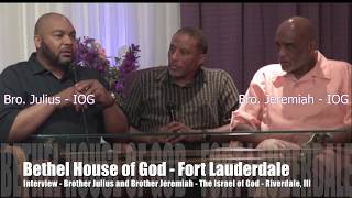 The Interview with The Israel of God