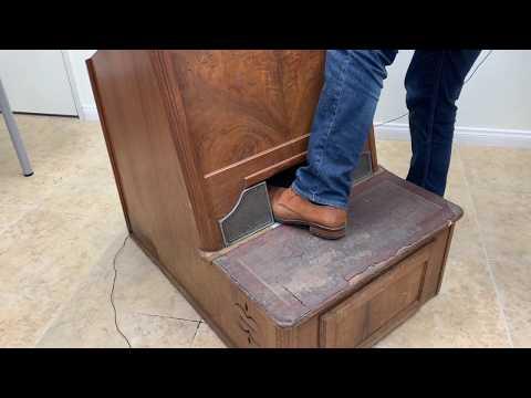 Adrian Special Shoe Fitting Fluoroscope X-Ray Machine Teardown