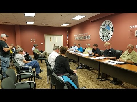 Pickens County Airport Authority April 2017