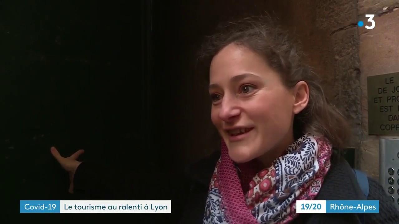 Reportage France 3 Auvergne Rhône-Alpes : Les Guides Conférenciers et le COVID-19