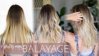 Adding Dimension Back into a Balayage with Highlights and Lowlights | Foilayage Touch Up Technique