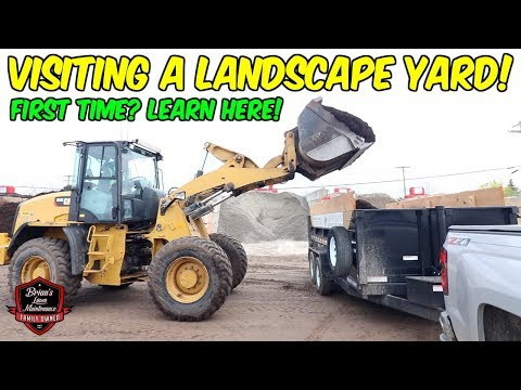 LEARNING THE ROPES! ►Visiting Our Local Site One Landscape Supply!