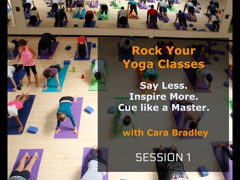 Rock Your Yoga Classes:  Session 1 - Common Mistake & Strategies - Effective Cueing for Teachers