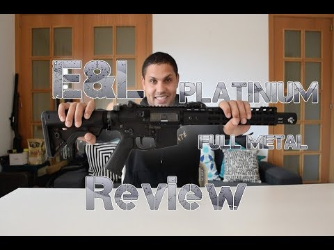 E&L Platinium M4 Full Metal - Review AIRSOFT