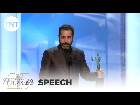 Tony Shalhoub: Award Acceptance Speech   25th Annual SAG Awards   TNT