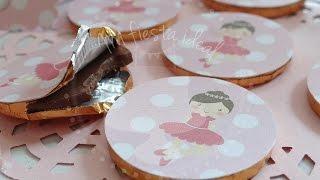 """Como hacer toppers para cupcakes con tijeras""""! Thumbnail"""