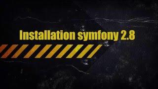 1-Installation Symfony2.8