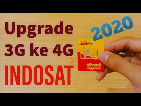 Cara Upgrade 3g Ke 4g Indosat Cara Mengganti Kartu 3g Menjadi 4g Indosat Youtube