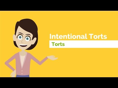 What are the Intentional Torts