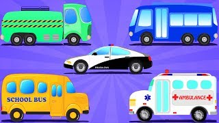 Street Vehicles For Babies | Car Videos For Toddlers By Kids Channel