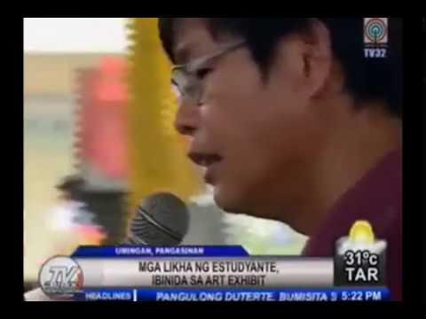 Amangpintor on ABS-CBN TV Patrol - Umingan