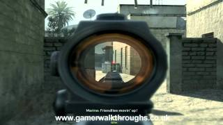 Call of Duty 4 walkthrough - Charlie Don
