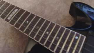 Cleaning Corroded / Rusted Guitar Frets WITHOUT Removing the Strings - ESP Eclipse