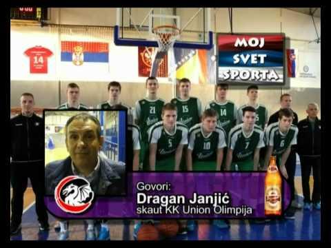 Dragan Janjic - skaut KK Union Olimpija - turnir Valjevo 2015