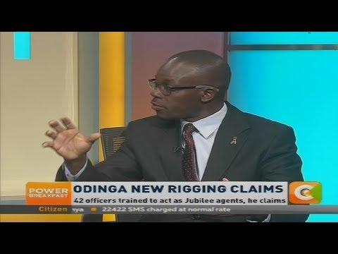 Power Breakfast: Raila Odinga's new rigging claims