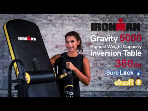 5406 IRONMAN Gravity 5000 Highest Weight Capacity Inversion Table with AIRSOFT and SURELOCK System