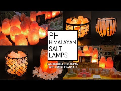 Business And Leisure | Strictly Business: PH Himalayan Salt Lamps