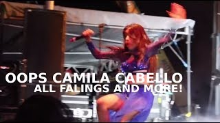 Oops Camila Cabello: ALL fallings and MORE!