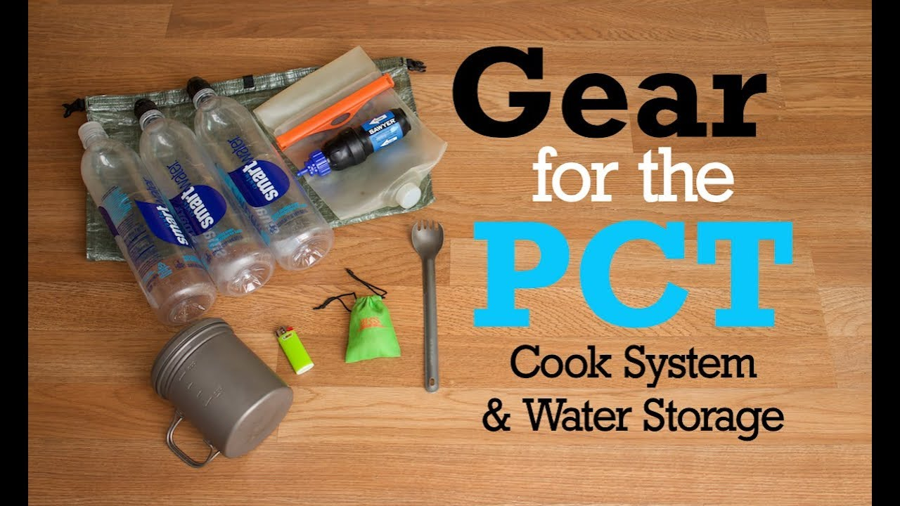 Gear for the PCT - Cook System & Water Storage