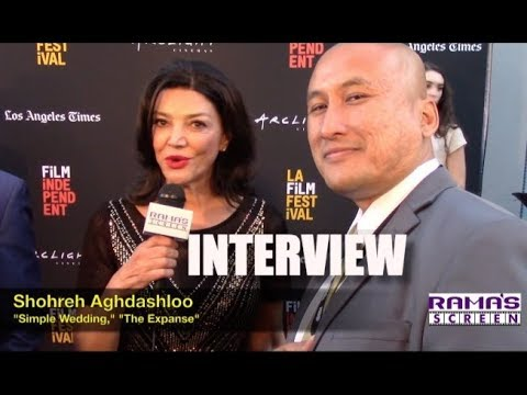 My LAFF 2018  with Shohreh Aghdashloo about 'SIMPLE WEDDING' and 'The Expanse' New Season