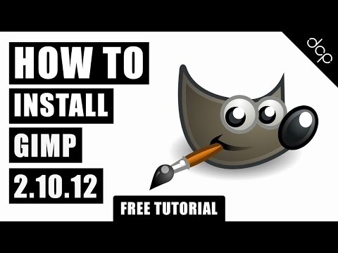 How to install GIMP 2.10.12 - Free Image Editing Application thumbnail
