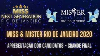 APRESENTAÇÃO DOS CANDIDATOS | GRANDE FINAL | MISS & MISTER RIO DE JANEIRO 2020