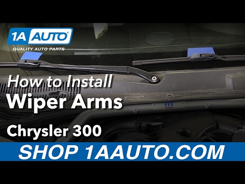 How to Replace Windshield Wiper Arms 05-10 Chrysler 300