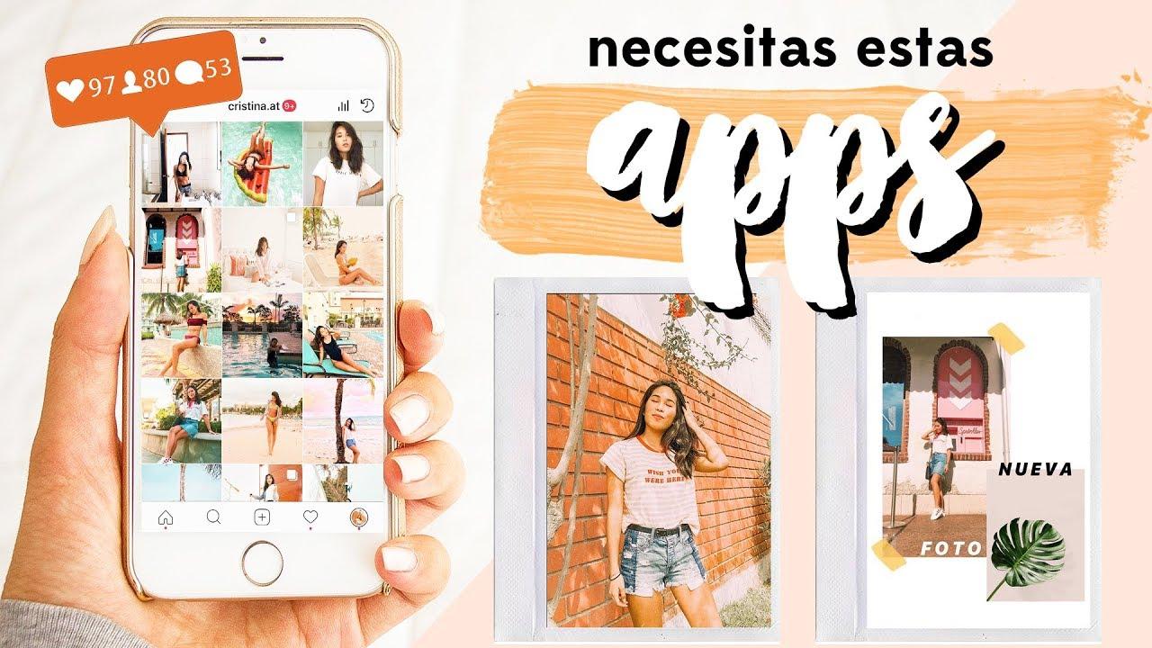 Las Mejores Aplicaciones Para Editar Fotos Instagram Stories 2018