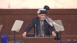 President Ghani's full speech at the Parliament