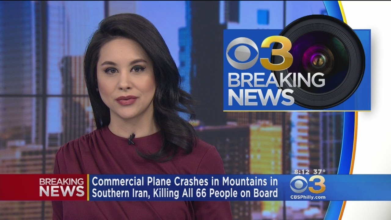 66 Killed In Commercial Plane Crash In Southern Iran