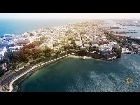 Drone Series: Old San Juan, Puerto Rico