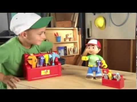 Handy Manny Talking Tool Box - Disney - Fisher-Price
