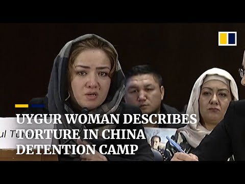 Uygur Woman Describes Torture In China's Xinjiang 'vocational Training' Camps