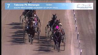 TABCORP PK MENANGLE - 01/05/2015 - Race 7 - SOUTH WEST SYDNEY ACADEMY OF SPORT PACE