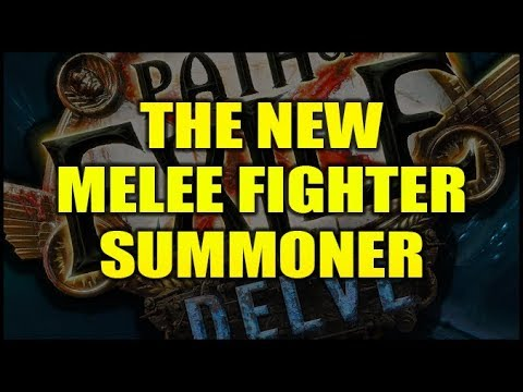 PATH OF EXILE 3.4 DELVE: The New Melee Summoner Archetype