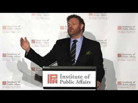 Mark Steyn - Speech to the IPA's Gala Dinner in Melbourne 2016