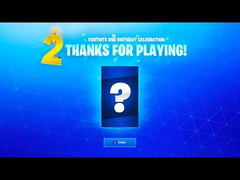 Fortnite 2nd BIRTHDAY CELEBRATION! (Free Rewards & Free Items?)