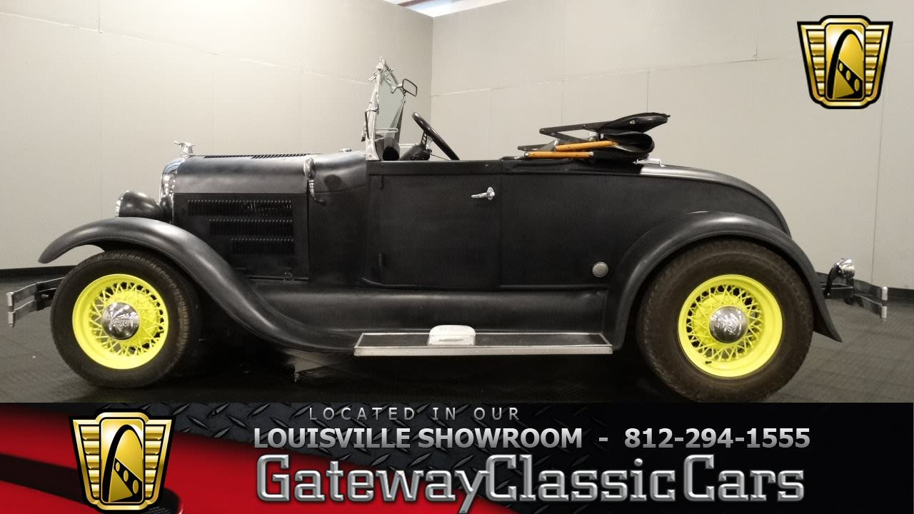 "Ford Louisville Ky >> 1929 Ford ""Shay"" Model A Roadster - Louisville Showroom ..."