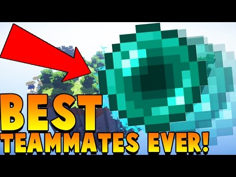 BEST TEAMMATE EVER | Minecraft: Money Wars 1.9 SOLO #22