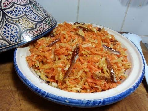 cuisine-orientale---salade-de-navets,-carottes-et-dattes
