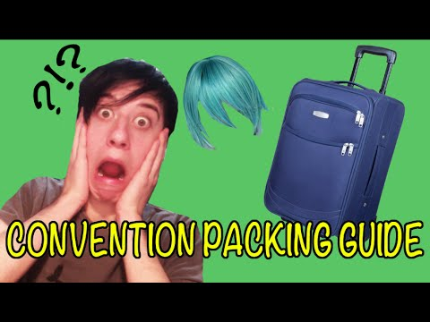 Convention Packing Guide