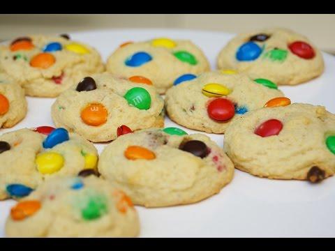 recette-des-cookies-m&m's-(m&m's-cookies-subtitled)