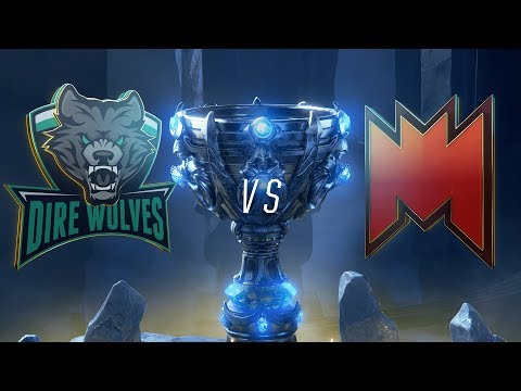 DW vs. INF | Play-In Groups | 2018 World Championship |Dire Wolves vs. Infinity Esports (2018)