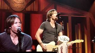 KEITH URBAN - Put You In A Song - Nashville, TN - September 4, 2012