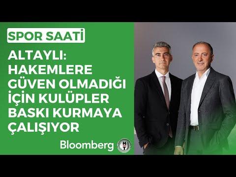 Altaylı: Hakemlere güven olmadığı için kulüpler baskı kurmaya çalışıyor - Spor Saati   15.02.2021